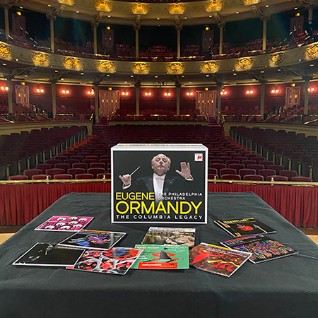 Ormandy Box Set in the Academy of Music